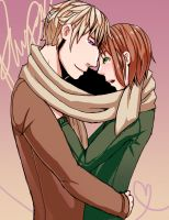 Commission- Russia x Liet by elefluff