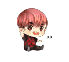 EXO D.O Chibi PNG by SooyoungLover