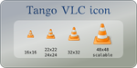 Tango VLC icon by mischamajskij