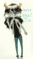 8IG 8ITCH by Strawberry-Needles