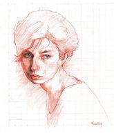 Study for painting Katrin 1 by SILENTJUSTICE