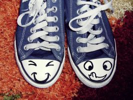 Funny shoes by dudibee