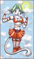 Nyxie :: Summer Party Girl by violetomega