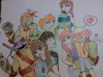 Our crazy Group XD by NightShadeNinja
