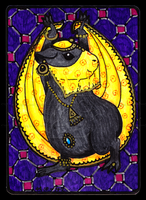 Bellydancing Piggie ACEO 37 by Siobhan68