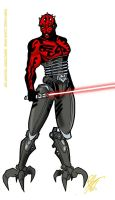Darth Maul Clone Wars by Inspector97