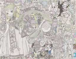 Nintendo Collage by hamimo