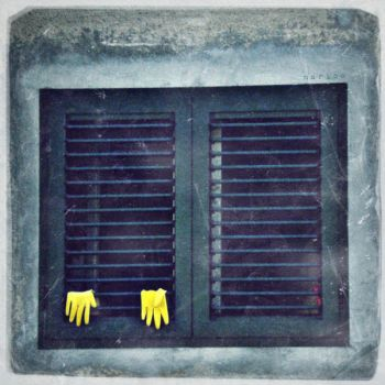 Yellow Gloves by MarinaCoric