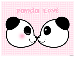 Panda Love by Ha-nee
