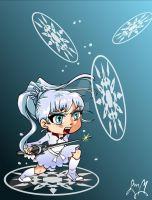 RWBY Weiss by digikolobong