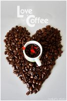 Love Coffee by Mokarta-Photo