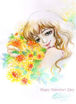 Happy Valentine Day by Estheryu