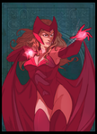 Scarlet Witch by yinfaowei