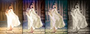 The 4 phases of Swooning in the Sunshine by Magicc-Imagery