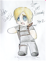 Sexier Chibi Leon Kennedy by SqueekyClean-801