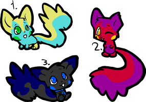 20 Point Pachirisu Adoptables - CLOSED by ThisAccountIsDead462