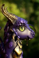 Purple Dragon2 by BarbedDragon by BarbedDragon
