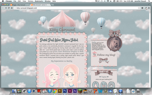 Kitty Carousel Personal Blog Design by KittyCarousel