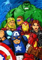 Avengers by Jey2K