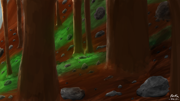The Redwood Forest by TheDurkaArt