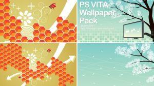 PS Vita Wallpaper Pack by Nirvasher