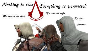 The Assassins Creed by DaGmodSpartan