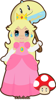 R: Princess Peach by KFoxDoodles