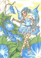 Morning Glory Fairy by Tamao