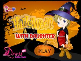 HALLOWEEN WITH DAUGHTER by kute89