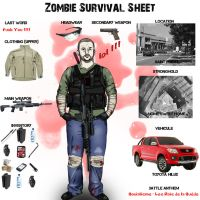 Zombie Survival Sheet by Qsec