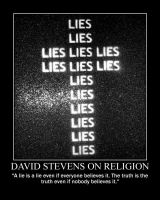 David Stevens on religion by fiskefyren
