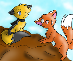Collab: Mountain Climbing by CrispyCh0colate