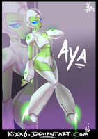 Aya: Green Is NOT A Creative Colour by KiXx6