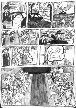 Cyborg 009 #1 The Draft page 6 by TheZackBurg