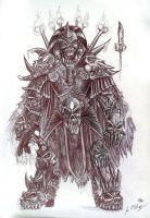 Lich Knight Concept by Chilord