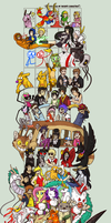 Can you guess all my favourite characters? by KingNeroche