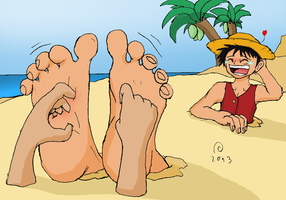 Luffy's Lustrative Levity by Shadow-Aspect