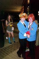 A-Kon 2014 Host Twins by KittyChanBB