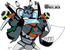 TF Animated WheelJack by piyo119
