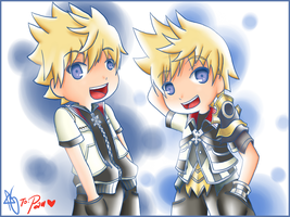 HBD: Roxas and Ven by aprilsierra