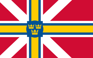 Scandinavian Commonwealth Flag by Rarayn