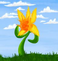 Day 2: Daffodil by StormWhiskers