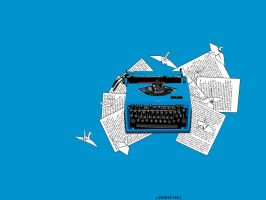 Typewriter. by swordfishll