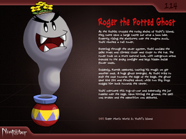 Nintober #114. Roger the Potted Ghost by fryguy64