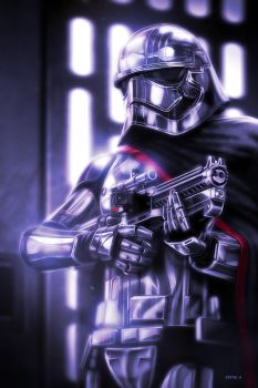 Captain Phasma - The Force Awakens by EddieHolly