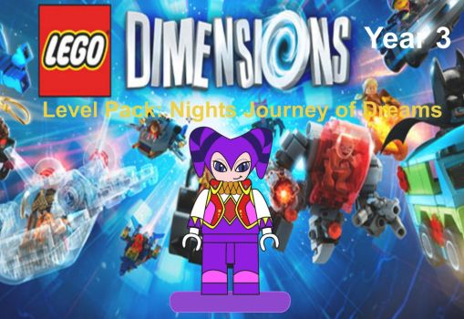Lego Dimensions Nights by EthanTavitas