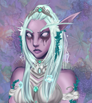 Young Tyrande by Opheliona