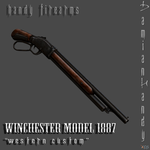 Winchester Model 1887 'Western Custom' by DamianHandy
