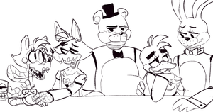 Freddy is a forever alone by MarlArtsCE