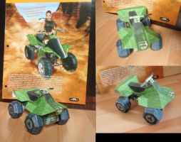 Papercraft Quad in Tomb Raider by Noemie-in-Art